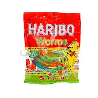 Haribo Worms 80g