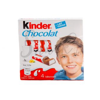 Kinder Chocolat 4 bâtonnets