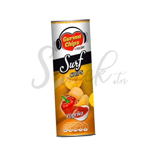 Gurma chips Surf Chips paprika 160g