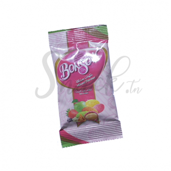 Bonsoir crunchy coated penuts mixed flavour 18g