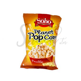 Soho planet popcorn goût fromage 75g