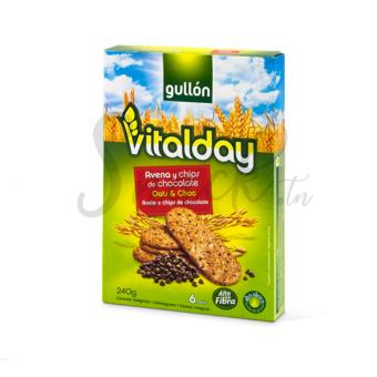 Gullon Vitalday oats & choc 240g