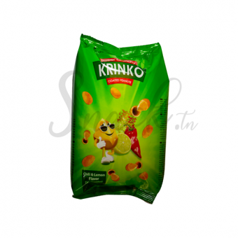 Krinko coated penuts chili & Lemon favor 80g