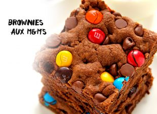 Brownies aux M&M's