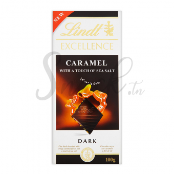 Lindt Excellence Caramel with a touch of sea salt Dark 100g
