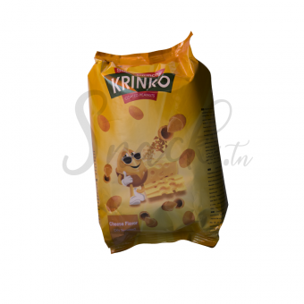 Krinko Coated Peanuts Cheese Flavour 80g