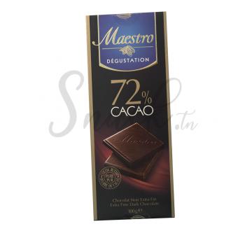 Maestro Dégustation 72% Cacao 100g