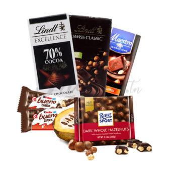 Amateurs de chocolat noir