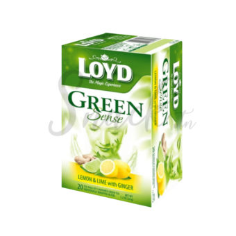 Loyd Green Sense Lemon & Lime With Ginger